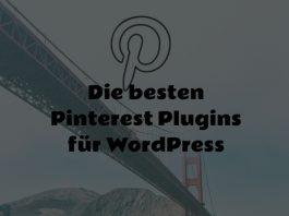 Pinterest Plugins für Wordpress