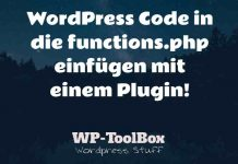 Code in WordPress