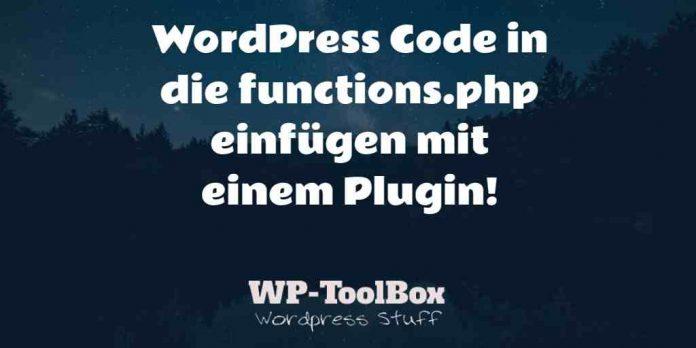 Code in WordPress