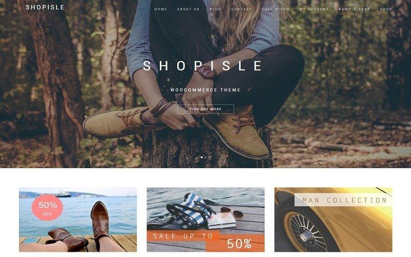 Shopisle Ecommerce Wordpress Theme