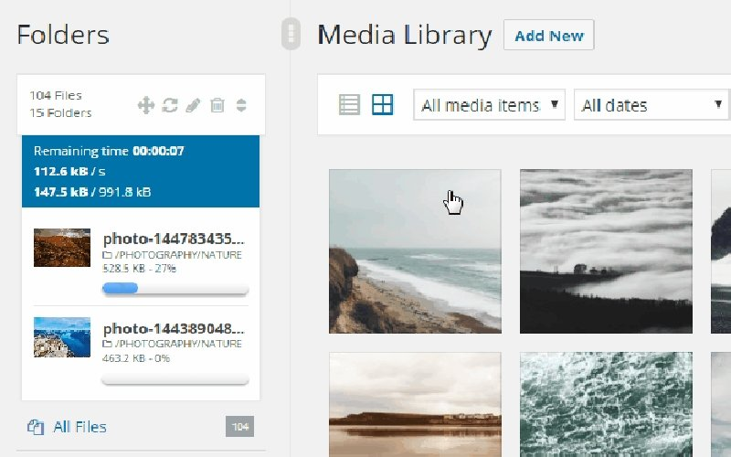 WP Real Media-Library