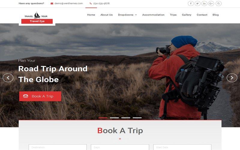Kostenloses Reise Wordpress Theme