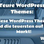 Wieviel kostet ein WordPress Theme