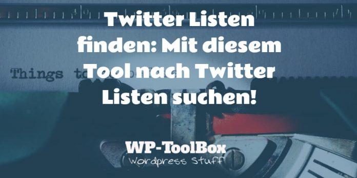 Suchmaschine für Twitter