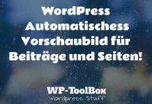 Automatisches Vorschaubild in WordPress