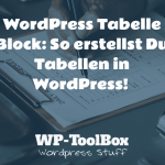 WordPress Tabelle