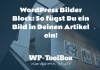Bilder Block WordPress