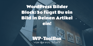 Bilder Block WordPress