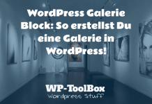 WordPress Galerie Block