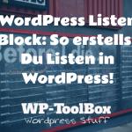 Listen in WordPress