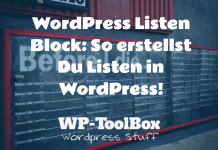 Listen in WordPress