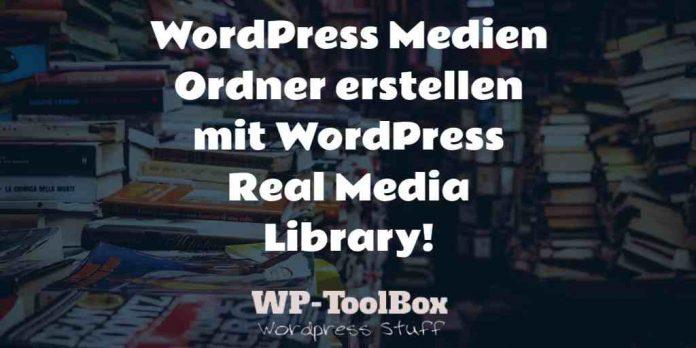 Ordner in der WordPress Mediathek erstellen