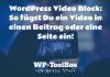 Video Block WordPress
