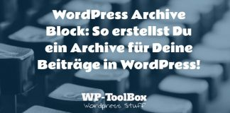 Archive für WordPress