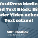 Bild neben Text in WordPress