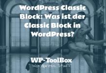 Classic Block WordPress