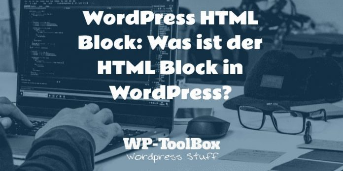 HTML Block WordPress