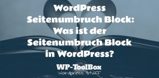 Seitenumbruch in WordPress
