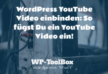 YouTube Video in WordPress einbinden