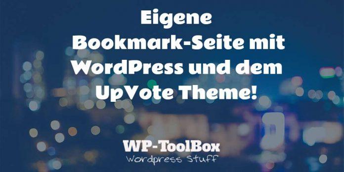 Bookmark Seite mit WordPress