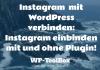 Instagram und WordPress