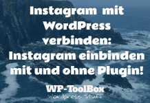 Instagram und WordPress