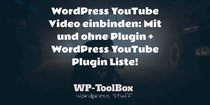 YouTube Video WordPress